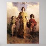 Abbott Handerson Thayer un poster de la Virgen