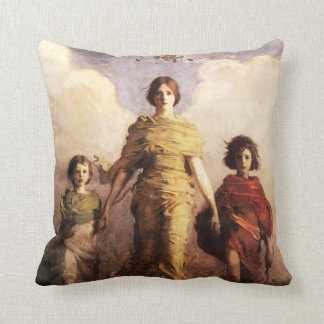 Abbott Handerson Thayer una almohada de la Virgen