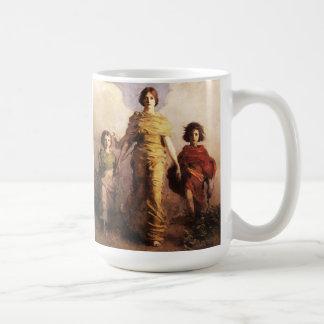 Abbott Handerson Thayer una taza de la Virgen