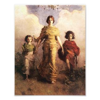 Abbott Handerson Thayer una Virgen Fotografías