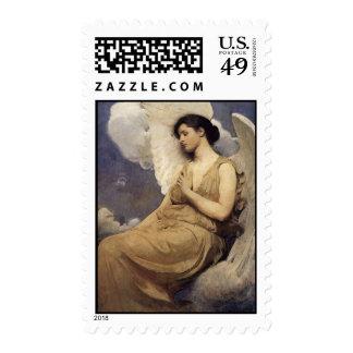 Abbott Handerson Thayer Winged Figure Stamp