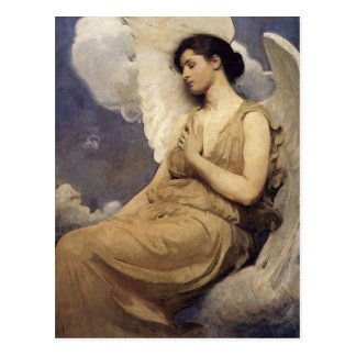 Abbott Handerson Thayer Winged Figure Postcard
