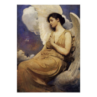 Abbott Handerson Thayer Winged Figure Poster