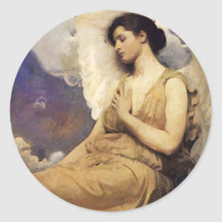 Abbott Handerson Thayer Winged Figure Stickers