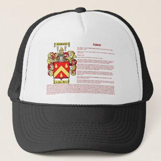 Abbott (irish(meaning) trucker hat