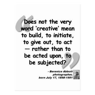 Abbott Quote.png creativo Postal