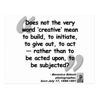 Abbott Quote.png creativo Postales