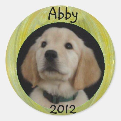 Abby 2012 Sticker Sheet