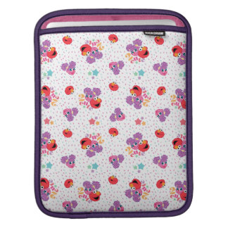 Abby And Elmo 2 Cute Pattern iPad Sleeve