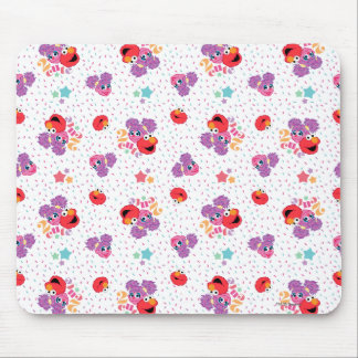 Abby And Elmo 2 Cute Pattern Mouse Pad