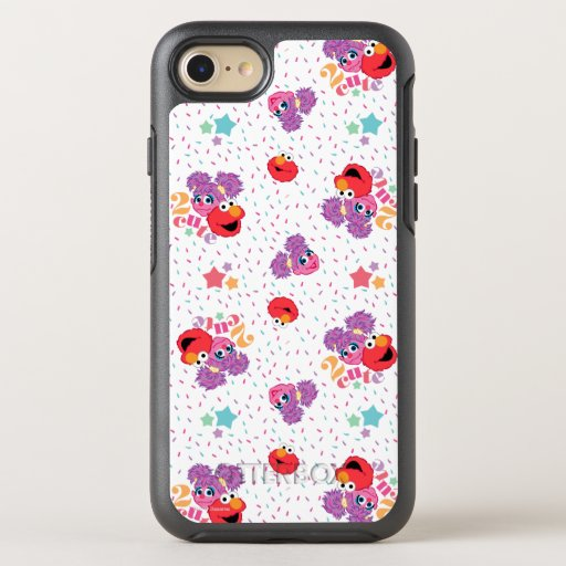 Abby And Elmo 2 Cute Pattern OtterBox Symmetry iPhone SE/8/7 Case