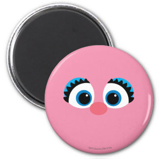 Abby Cadabby Big Face 2 Inch Round Magnet