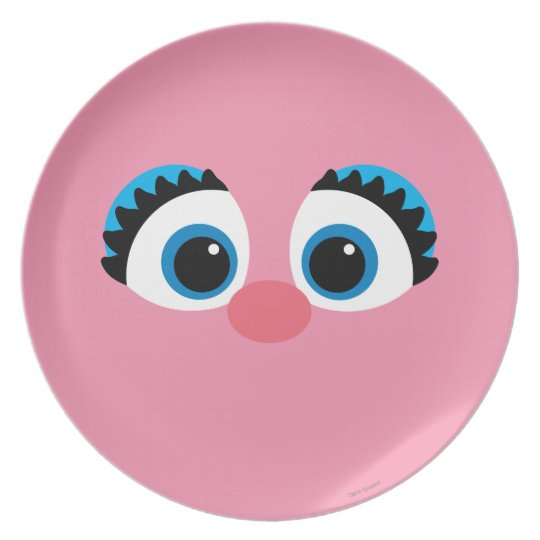 Abby Cadabby Big Face Dinner Plate Zazzle Com