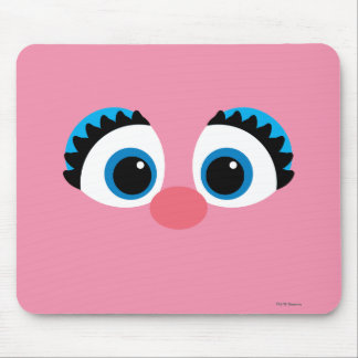 Abby Cadabby Big Face Mouse Pad