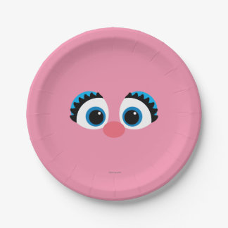 Abby Cadabby Big Face Paper Plate