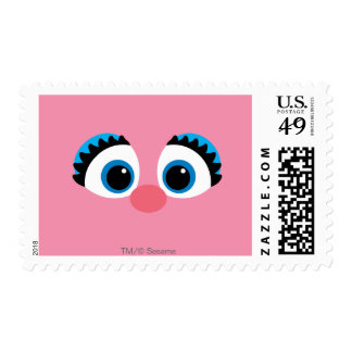 Abby Cadabby Big Face Postage