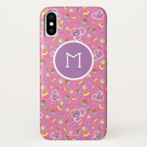 Abby Cadabby Cupcake Party Pattern iPhone X Case