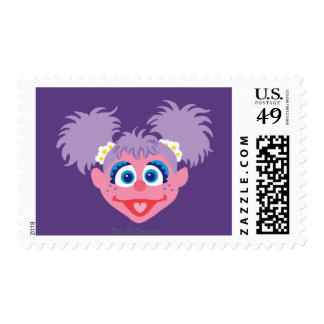 Abby Cadabby Face Postage Stamps