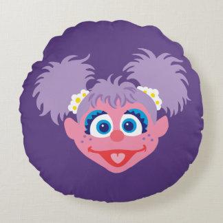 Abby Cadabby Face Round Pillow
