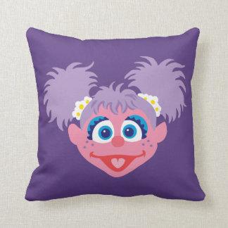 Abby Cadabby Face Throw Pillow
