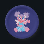 "Abby Cadabby Fairy Paper Plate<br><div class=""desc"">Check out Abby Cadabby,  your favorite fairy!        This item is recommended for ages 2 . &#169;  2014 Sesame Workshop. www.sesamestreet.org</div>"