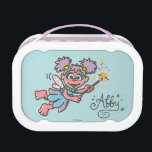"""Abby Cadabby Flying Lunch Box<br><div class=""""desc"""">Check out this flying Abby Cadabby with her magical wand.        This item is recommended for ages 2 . &#169;  2014 Sesame Workshop. www.sesamestreet.org</div>"""