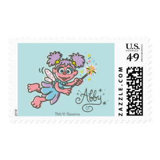 Abby Cadabby Flying Stamp