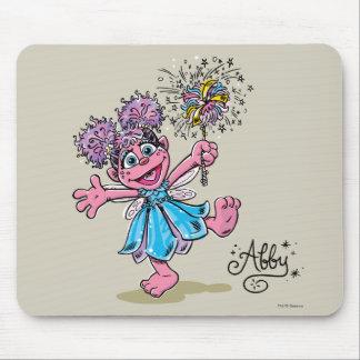 Abby Cadabby Retro Art Mouse Pad