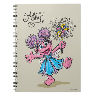 Abby Cadabby Retro Art Spiral Notebook