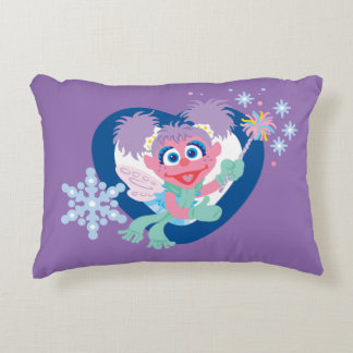 Abby Cadabby Snowflake Accent Pillow