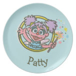 Abby Cadabby Vintage Party Plate