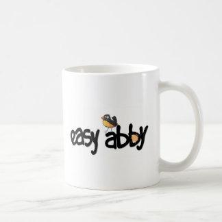 Abby fácil TV Taza del café con leche