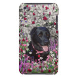 Abby in Flowers – Black Lab Dog Case-Mate iPod Touch Case