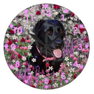 Pink Labrador Art Wall Decor