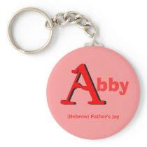 Abby Keychain