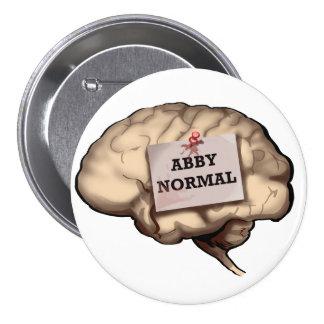 Abby Normal Brain Button