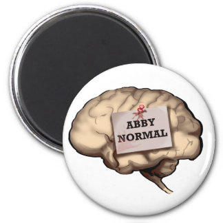 Abby Normal Brain Fridge Magnet