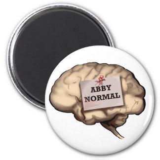 Abby Normal Brain Magnet