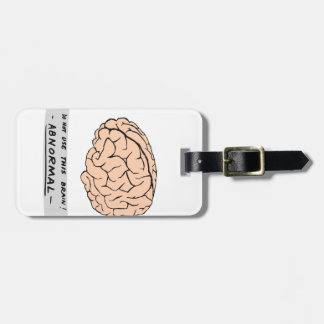 Abby Normal Travel Bag Tags