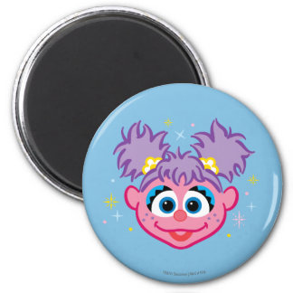 Abby Smiling Face Magnet