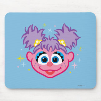 Abby Smiling Face Mouse Pad