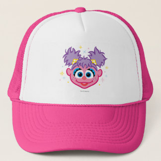 Abby Smiling Face Trucker Hat