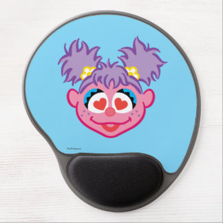 Abby Smiling Face with Heart-Shaped Eyes Gel Mouse Pad