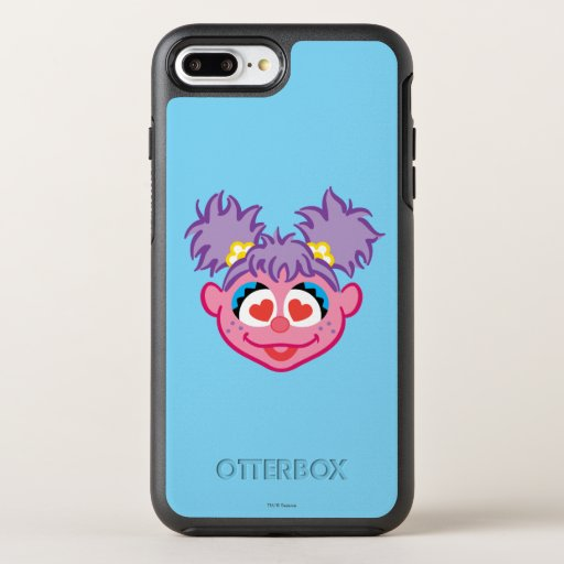 Abby Smiling Face with Heart-Shaped Eyes OtterBox Symmetry iPhone 8 Plus/7 Plus Case