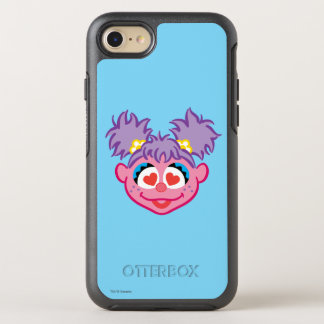 Abby Smiling Face with Heart-Shaped Eyes OtterBox Symmetry iPhone 7 Case