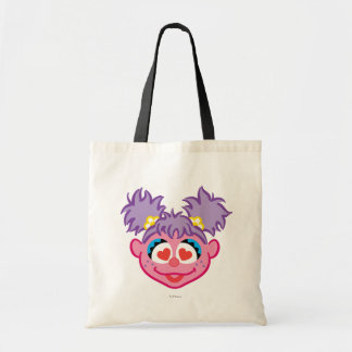 Abby Smiling Face with Heart-Shaped Eyes Tote Bag