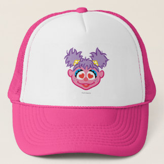 Abby Smiling Face with Heart-Shaped Eyes Trucker Hat