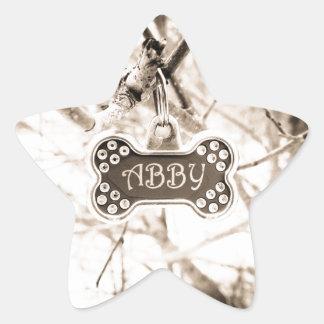 Abby Star Sticker