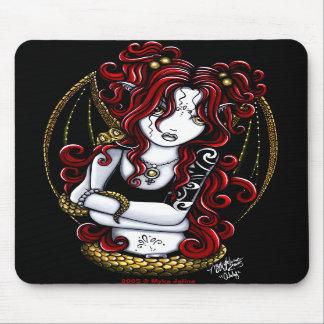 """Abby"" Tattooed Fairy Mousepad"