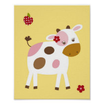 Abby's Farm Farm Animal Nursery Wall Art Print